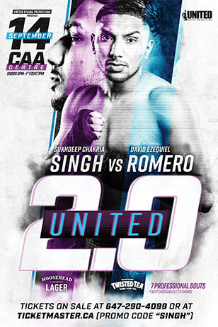 United 2.0 Fight Poster