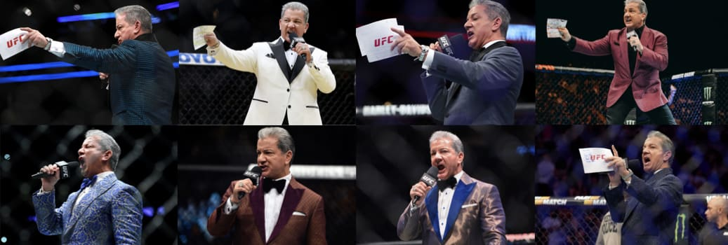 Bruce Buffer at the King & Bay Lounge in Toronto