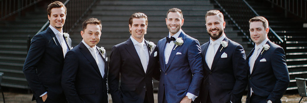 Anthony Farinaccio Custom Wedding Suit Toronto