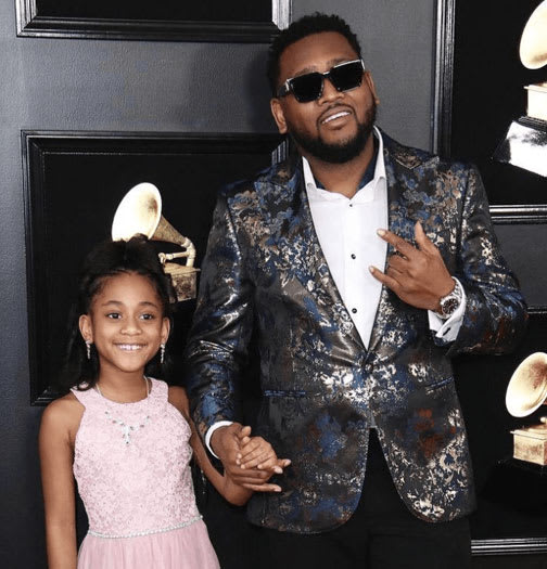 Boi1da in King & Bay Tuxedo Jacket at the 2019 Grammy Awards