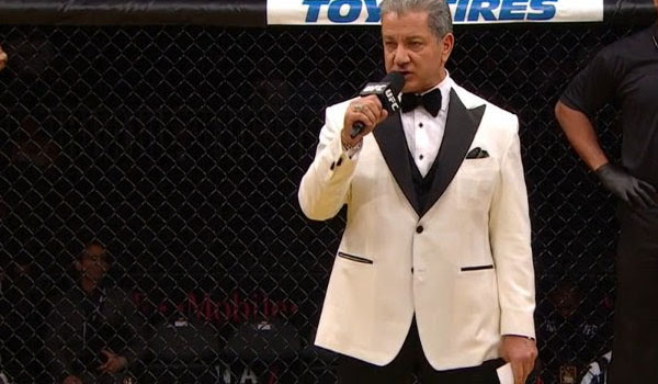 Bruce Buffer in the Modern Smoking Jacket