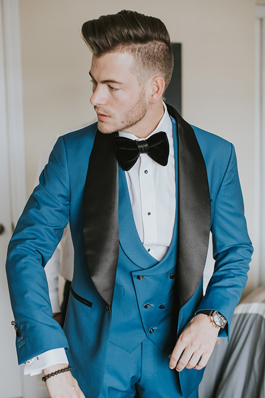 Cale Marshall, Custom Wedding Suit