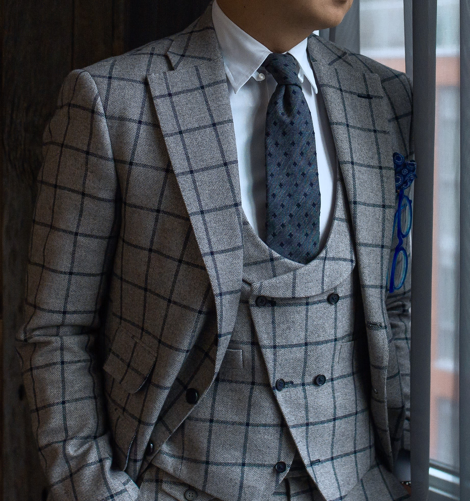 Custom Men's Business Suit, Toronto