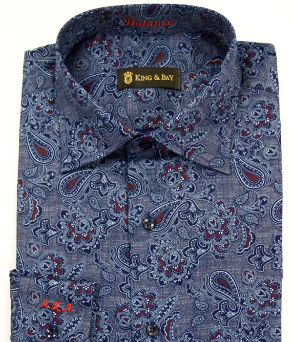 Custom Shirts, King & Bay Custom Mens Clothing