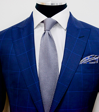 Glen Check Pattern Suit, Mens Custom Suits, King & Bay