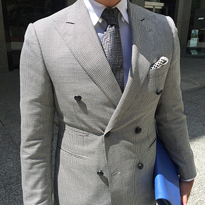 Light Grey Summer Mens Suit, Toronto