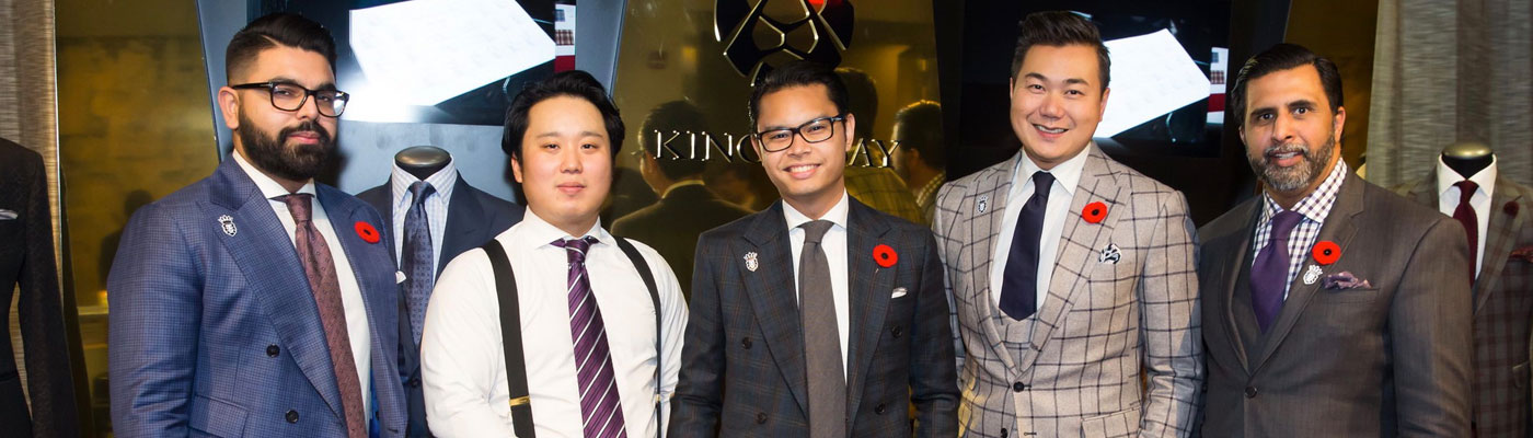 Custom Bespoke Menswear Events Toronto