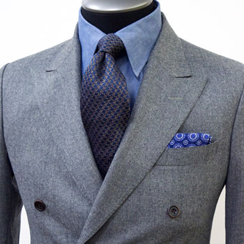 Custom Fall Suit, King & Bay Menswear Toronto