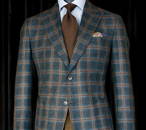 Donegal Tweed Custom Jacket, King & Bay Toronts