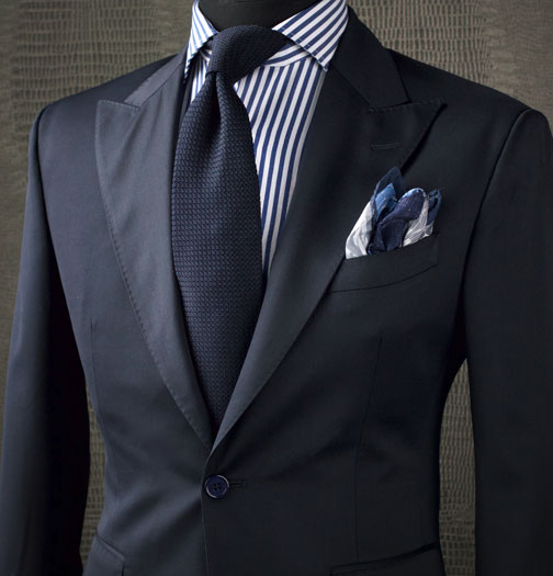 Custom Business Suit for the Holidays
