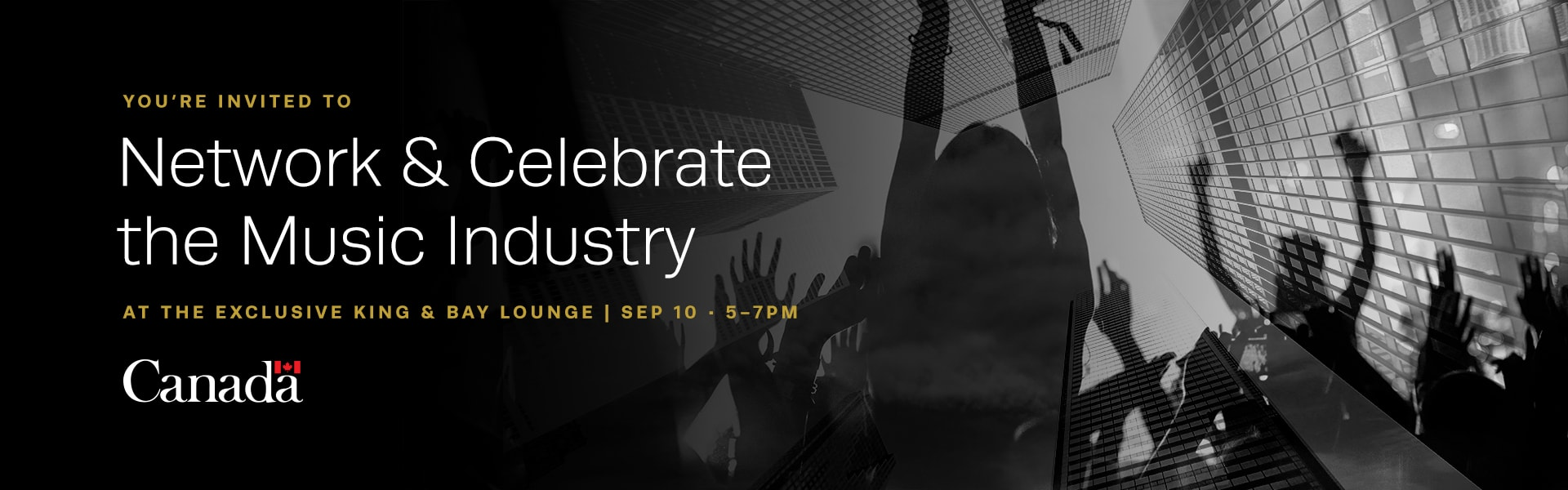 Network & Celebrate the Music Industry at King & Bay in Toronto