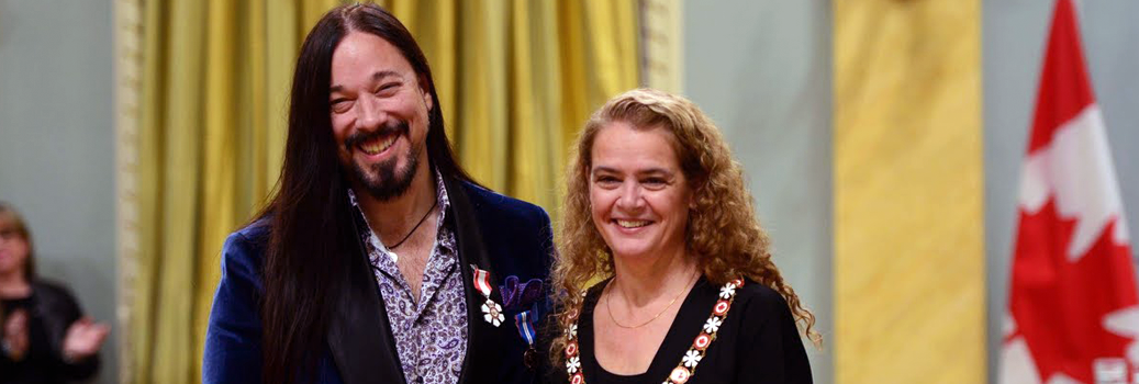 Rob Baker, Tragically Hip, Inducted into the Order of Canada