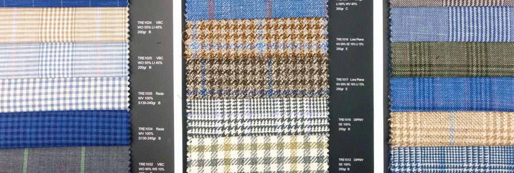 Light Spring & Summer Menswear Fabrics
