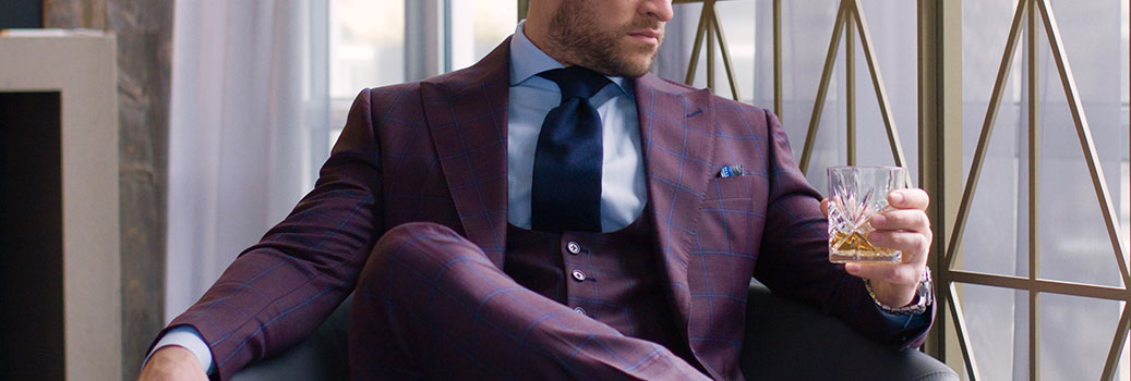 Custom Made Fall Suit From King & Bay